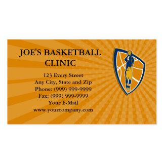 Business card Basketball Player Jump Shot Ball Shi