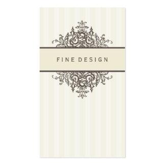 BUSINESS CARD :: beautiful renaissance 3