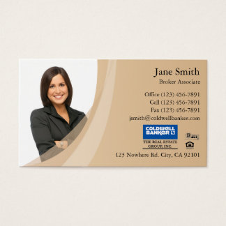 Business Card: Beige Business Card