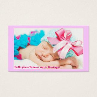 Business Card Bella-Jae's Bows & more