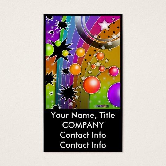 Business Card - BIG BANG BLACK HOLES POP ART