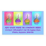 Business Card - Birthday Cupcakes
