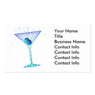 Business Card - BLUE MARTINI