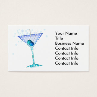 Business Card - BLUE MARTINI