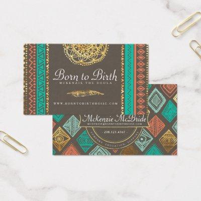 Every woman deserves a doula business cards zazzle colourmoves