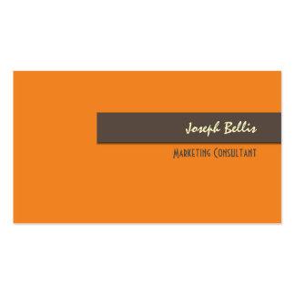 Business Card, bold {customizable background}