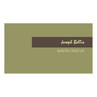 Business Card, bold {customizable background} Double-Sided Standard Business Cards (Pack Of 100)