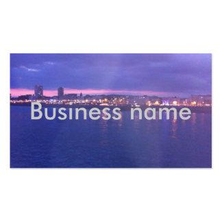 Business Card Brighton Sunset UK