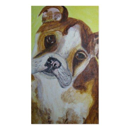 Business Card, Bulldog Rescue