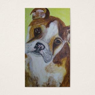 Business Card, Bulldog Rescue Business Card