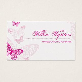 BUSINESS CARD :: butterflies 1 L