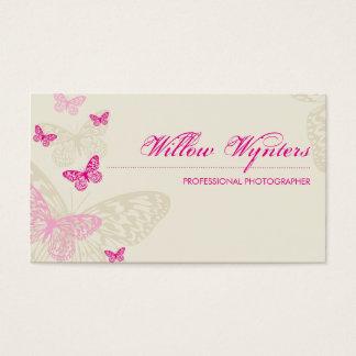 BUSINESS CARD :: butterflies 4L