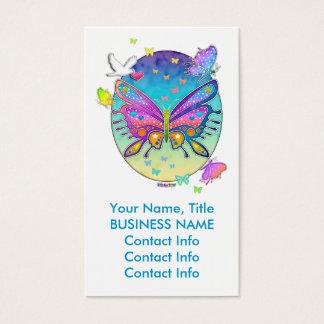 Business Card - BUTTERFLY POP ART