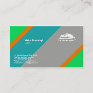 Business card by Logaster
