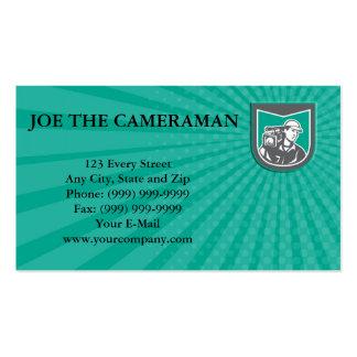 Business card Cameraman Film Crew HD Camera Video