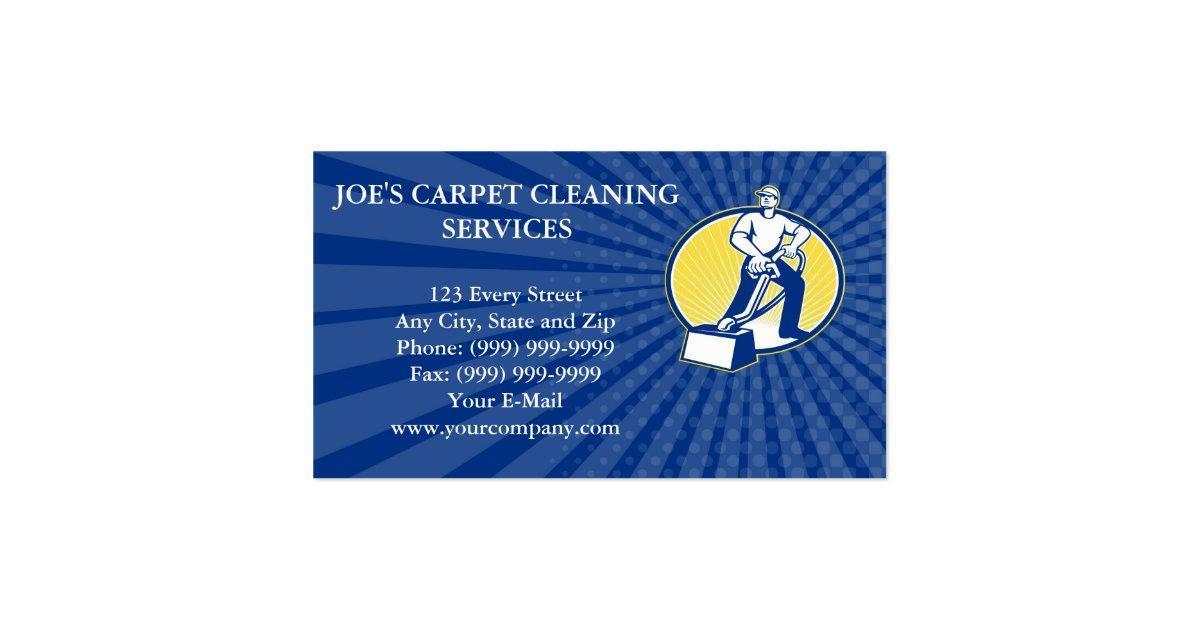 Business Card Carpet Cleaner Vacuum Cleaning Machi Zazzle