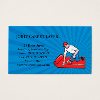 carpet fitter business cards templates zazzle