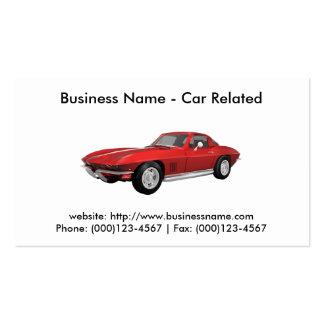 Business Card Cars Automotive