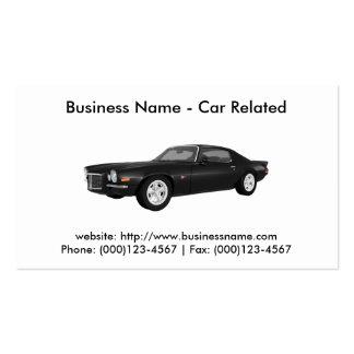 Business Card: Cars / Automotive