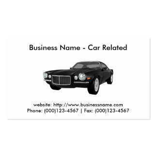 Business Card: Cars / Automotive Double-Sided Standard Business Cards (Pack Of 100)