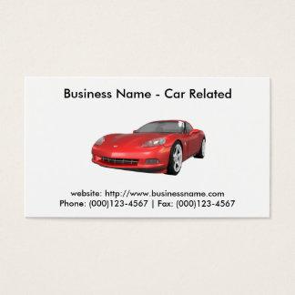 Business Card: Cars / Automotive Business Card