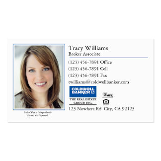 Business Card: Classic Photo Business Card