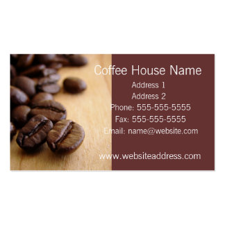 Business Card - Coffee House or Cafe