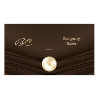 Business Card Company Elegant Choc Velvet Business Card Templates