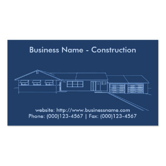 Business Card: Construction