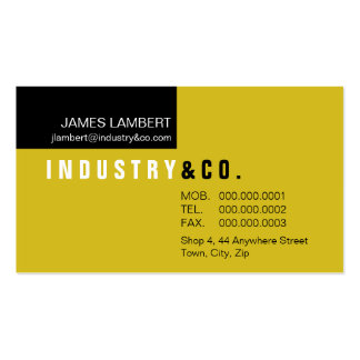 BUSINESS CARD :: corporately modern 11