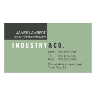 BUSINESS CARD :: corporately modern 4