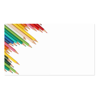 Business Card/Create Your Own Colored Pencils Business Card