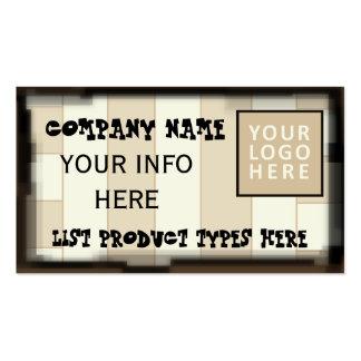 Business Card Customizable Template