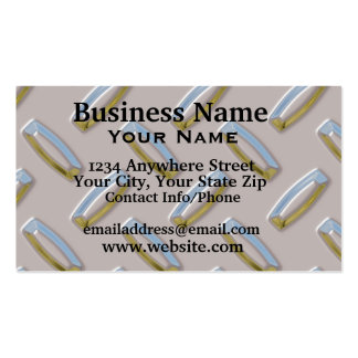 Business Card Diamond Plate