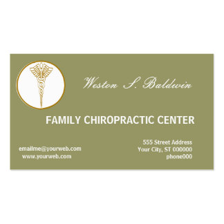 Business Card Doctors Eco Sage Green Business Card Template