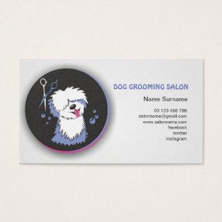 Business card Dog grooming salon