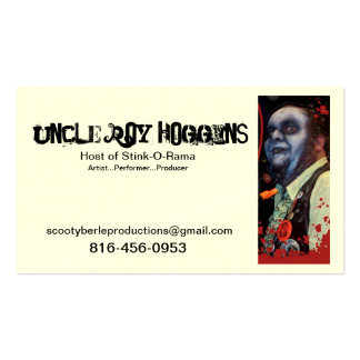 business card_edited-1, Uncle Roy Hoggins, 816-... Business Card