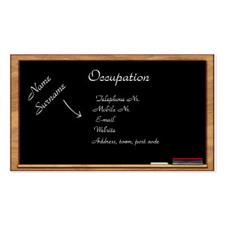 Business Card: Education & Training Double-Sided Standard Business Cards (Pack Of 100)
