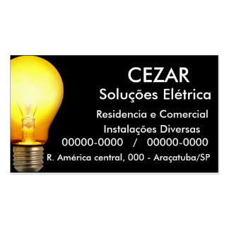 BUSINESS CARD - ELECTRICIAN