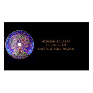 BUSINESS CARD-ELECTRICIAN BUSINESS CARD