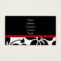 business card - elegant