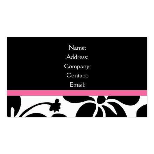 business card - elegant