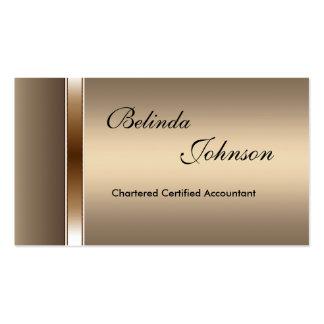 Business Card Elegant Coffee Elite