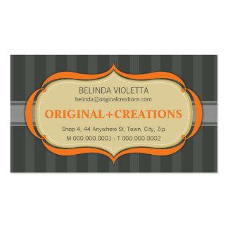 BUSINESS CARD :: elegant flamboyant L10