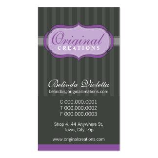 BUSINESS CARD :: elegant flamboyant P1