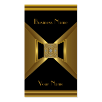 Business Card Elegant Gold Black Jewel Business Card Templates