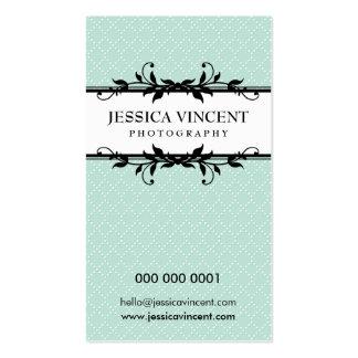 BUSINESS CARD elegant lux foliage