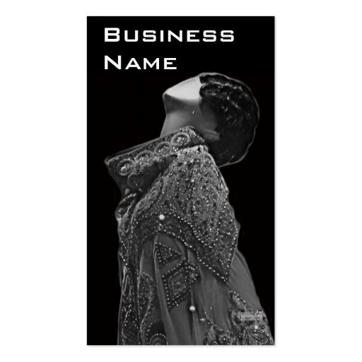 Business Card Fashion Design