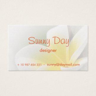 business card - flowerdesign