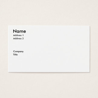 business card for a gym or fitness equipment sales